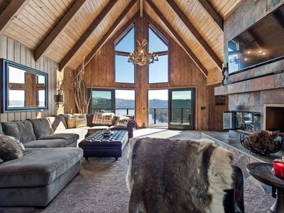 Photo for Cloud 9 is 4b/4bath upscale mountain living with sweeping views