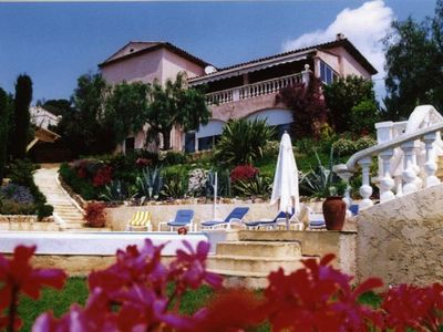 Photo for Nice apartment T3 Barbara beautiful view, swimming pool and private terrace