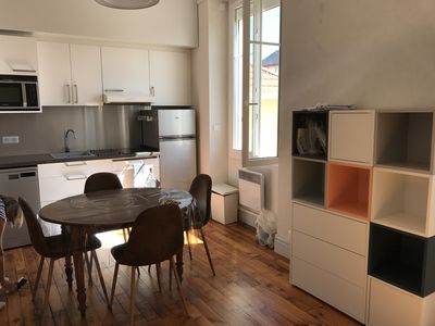 Photo for Large studio ideally located in Biarritz.