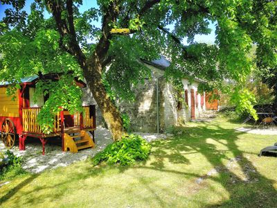 Photo for gîte and its caravan in the heart of a small village (see the video)