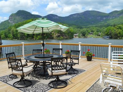Photo for Spectacular Lake Lure and Blue Ridge Mountain View in ~NC~