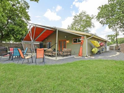 Photo for 2BR Modern Duplex - Unit A, Hot Tub & Fun Yard, Walk to Zilker & SoLa