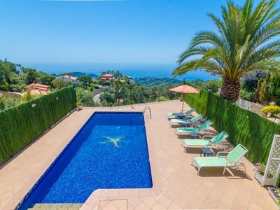 Photo for Club Villamar - Holiday villa with a cosy atmosphere in the hills of Lloret de Mar on the Costa B...