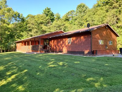 Photo for The Hillside Lodge is located in the beautiful Hocking Hills region of Ohio!