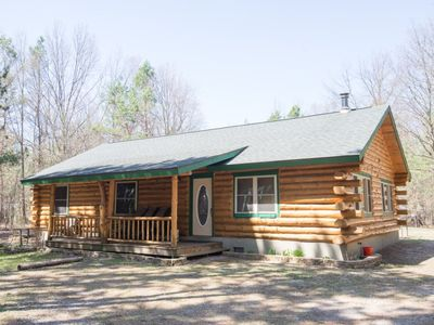 Photo for Wooded Retreat near LK MI and National Forest