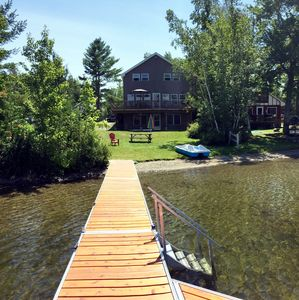 Photo for Spacious Modern Home On Pristine Beech Hill Pond!
