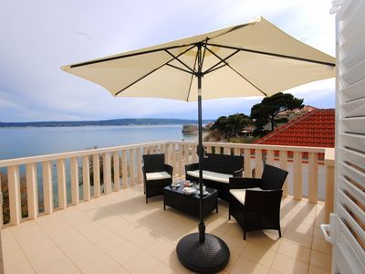 Photo for Bay view apartment across the beach