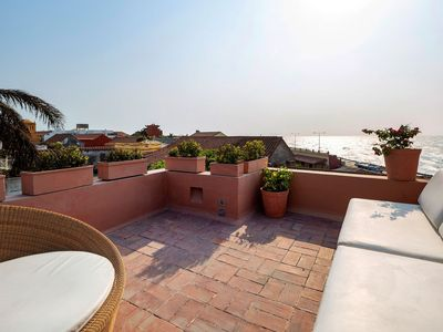 Photo for Car035 - 3 bedroom villa with beautiful sea view in Cartagena