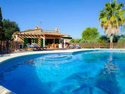 Photo for 2 bedroom Villa, sleeps 4 in Felanitx with Pool, Air Con and WiFi