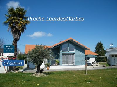 Photo for Pretty house with large garden 15 minutes from Lourdes, at the foot of the Pyrenees