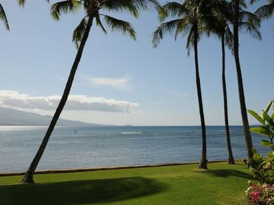Photo for Best Oceanfront Condo, LAULOA, Remodeled, WiFi, Curved UHD-TV