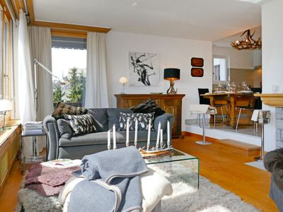 Photo for Apartment Chesa Sur Crap in St. Moritz - 4 persons, 2 bedrooms