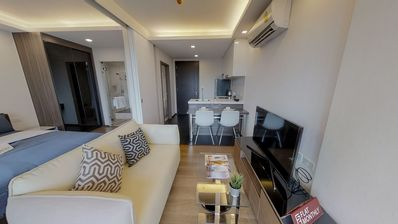 Photo for 🏢 1BR at The Remarkable Soonvijai 2 Condo near MRT Rama 9 by FlatMonthly