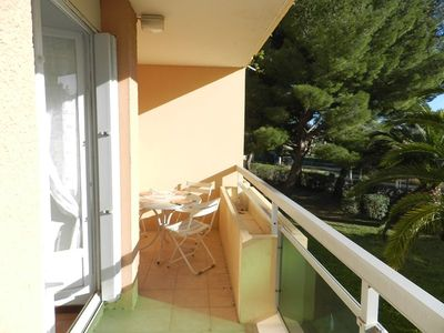 Photo for THE FAVIERE - 2 rooms for 5 people. 350 M FROM THE BEACH.