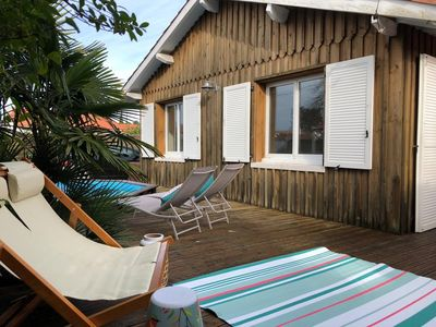 Photo for New!!! Charming house in the Bassin d'Arcachon, in the center of Andernos.
