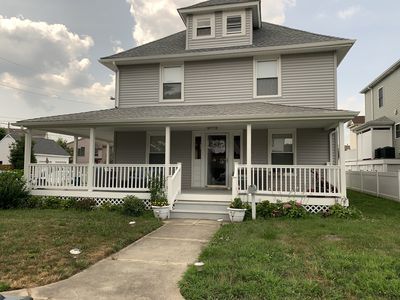 Photo for 2 Blocks from the beach and Boardwalk, 4 Bedrooms, 2 full Baths, newer home