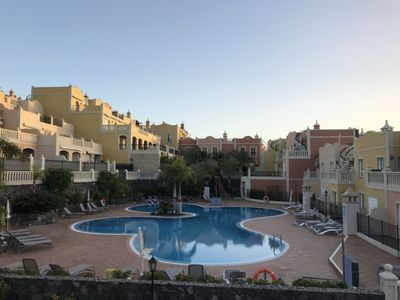 Photo for Palm Mar 2 Bedroom Duplex apartment with Sea views