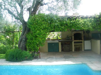 Photo for Charming house 4p with, swimming pool, summer kitchen, garden, private.