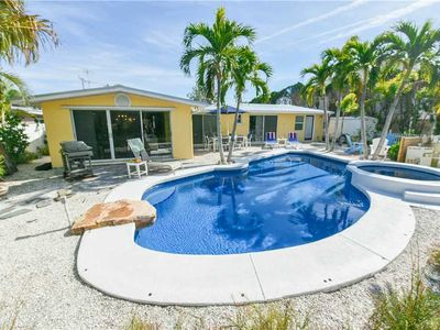 Photo for Private Pool, Basketball Court, & August Deals! A Ray of Sunshine: 3 BR / 3 BA