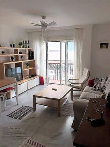 Photo for Beautiful apartment in 2nd line of the sea, central. Air conditioner. Wifi. TV