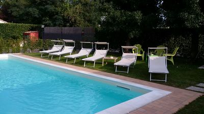 Photo for Villetta Elda with private pool and exclusive in the green countryside of Lucca