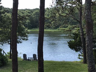 Photo for Waterfront Luxury Home on Waquoit Bay! Direct Access to Water from Backyard!