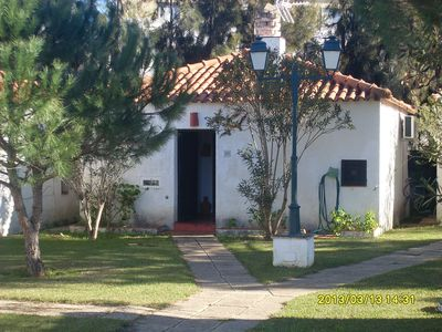 "Photo for Quiet Bungalow in ""Pedras da Rainha"" Cabanas for 4 persons"