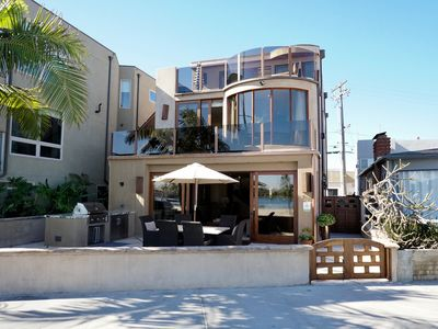 Photo for Stunning Luxury on the Bay! Gorgeous home with Jacuzzi overlooking bay!