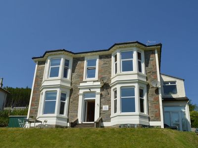 Photo for Kintore  3 B/R Apt in Innellan nr Dunoon, with views over the Firth of Clyde sleeps 6-Pet Friendly