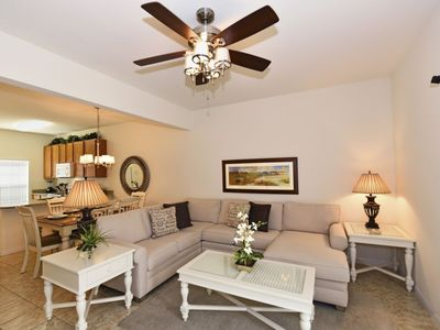 Photo for Luxury 3 Bedroom Townhome with Private Splash Pool at Bella Vida Resort