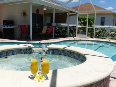 Photo for Villa Marion - Beautiful vacation home with heated pool & spa, south exposure, Free Wifi