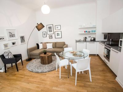 Photo for Beautiful apartment near the Charles Bridge - One Bedroom Apartment, Sleeps 4