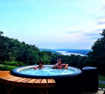 Photo for The Pinnacle with Panoramic Views of Keuka Lake on the Wine Trail