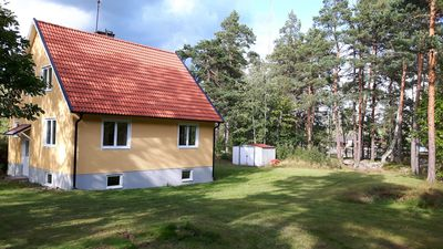 Photo for A newly renovated cottage for max 6 people 150m from the lake.