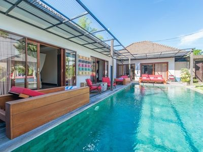 Photo for 3 Bedrooms villa in the heart of  Seminyak