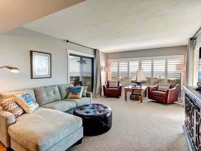 Photo for Beautiful Ocean Views from this Amelia Surf and Racquet Double Balcony 2nd Floor Condo