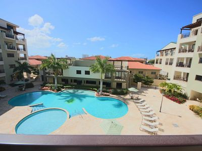 Photo for Nice and Spacious Condo, Lovely Balcony with Pool Views, Great for Couples