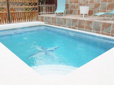 Photo for Apartment with private pool in Candelaria