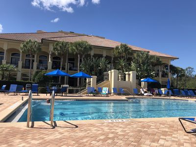 Photo for 2 Bedroom, furnished  condo in beautiful, gated commnuty: Grandezza in Estero FL