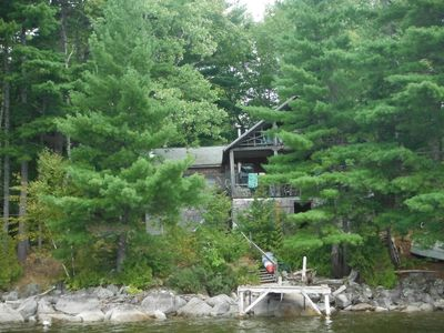 Photo for 3BR Cabin Vacation Rental in Forest City, Maine