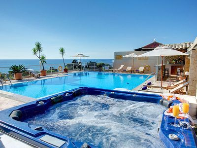 Photo for 5 bedroom Villa, sleeps 10 in Paramonas with Pool, Air Con and WiFi