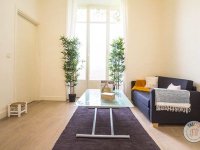 Photo for Modern and zen apartment in the heart of Nice