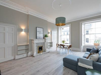 Photo for Stunning Broughton Street Apartment- 3 double beds