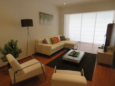 Photo for Spacious Apartment in Miraflores (3BD)