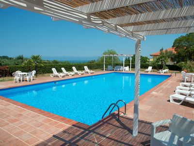 Photo for Apartments in Cilento with pool