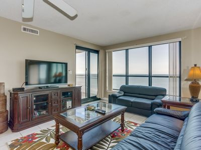 Photo for Oceanfront Penthouse Condo, Great Views, Walking Distance To Restaurants
