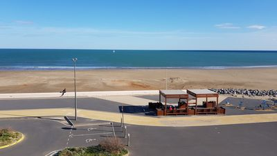 Photo for Nice 2-room flat with sea view