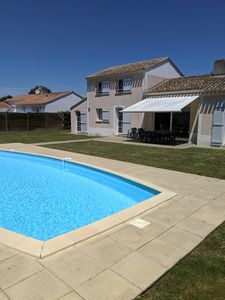 Photo for Villa Mimosa - 4 bedroom villa with private heated swimming pool & garden.