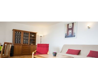 Photo for Cozy apartment right on the ski area