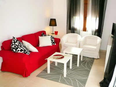 Photo for Apartment with sea views and swimming pools, with private parking